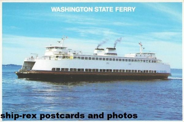 ISSAQUAH (Washington State Ferries) postcard (a)